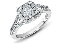 Thats a big diamond. Wedding Rings