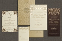 Beautiful Wedding Invitations / The most elegant, luxurious and unique wedding invitations around, from the wedding experts at Luscious Verde Cards.