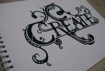 Typography / inspirational typography / by Marielle Ang