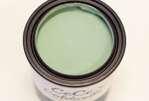 ALASKA TUNDRA GREEN / NON-TOXIC | NO VOC'S | NO SOLVENTS… NATURAL CHALK + CLAY PAINT FOR FURNITURE AND HOME DECOR #cececaldwellspaints #diy #chalkandclaypaint  / by CeCe Caldwell