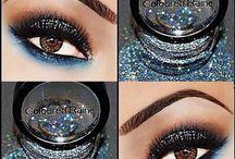 Make up - glitter