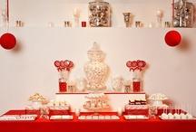 Rojo {Fiestas por Colores} / Inspiración para decorar una fiesta en tonos rojos / by My Little Party Fiestas con Estilo