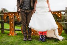 rustic wedding photo shoot farm