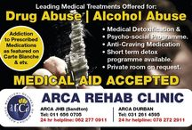 Addiction Rehab / Get Your Life Back For Good With ARCA's Assisted Recovery Centres of Africa.