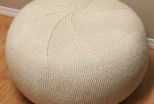 Crochet seating