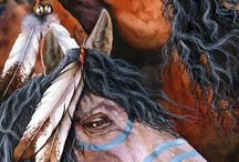 Indian paint horse