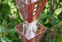 DIY Inspiration | Rain chain / A page filled with inspiration of rain chains to brighten up your garden even more.