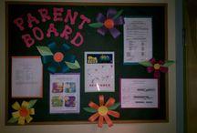 parents info board