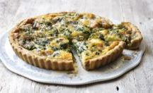 Savoury tarts and pies