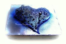 Yvonne Krystman- ART / Art of Yvonne Krystman, Polish born contemporary artist currently living and creating in Cape Coral, Florida. USA  #YvonneKrystman #ModernArt #FloridaArts #SWFL #CapeCoral  #UniqueArt #DiffrentArt #AllAboutTextures #OneofAKindJewellery