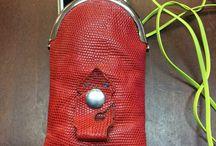 レザークラフト / leather craft レザー スマホケース