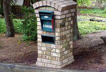 Outdoor - Mailbox Ideas  / by Jill Coffey Gilbert