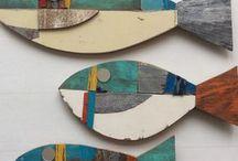 pesci legno