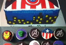 Superhero Cakes / by Autumn Rougeaux