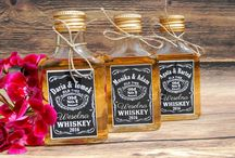 Buteleczki na alkohole podziękowania dla gości