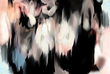 Blurred paintings
