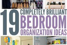 Cute bedroom & organizing!