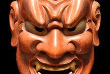Theater-Masks.