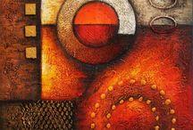 cuadros de ziñas abstractos
