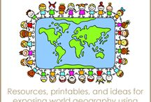 World Geography Resources for Kids  / Tips, tricks and ideas for teaching world geography / by Dianna Kennedy