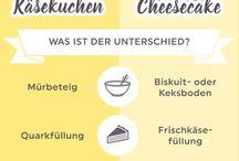 Käsekuchen vs Cheesecake