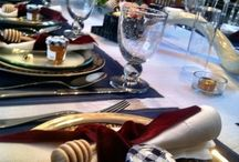 Table decor and entertainment ideas / I'm always entertaining... let me try to do something different this time