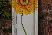 Painted door project