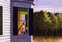 Edward Hopper / A selection of Edward Hopper's popular portrayals of atmospheric modern life, available from around the internet.