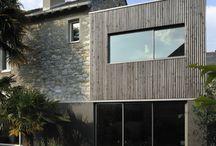 Extension maison pilotis
