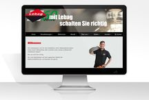 Projekt i realizacja www. Web design, website layout / Realizacje stron internetowych. Projekty www. Website layout.