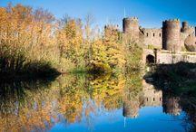 Chateaux au Pays de Galles / Découvrez les chateaux du Pays de Galles avec Alainn Tours : http://www.vacances-paysdegalles.fr/