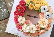 Nanacake / Nanacake in korea Flowercake
