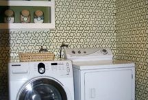 Stenciled Laundry Rooms / by StencilSearch