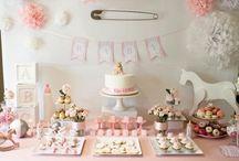 Bebek partisi tatlılar