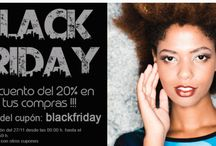 Black Friday / Descuento del 20% en toda nuestra tienda online www.yoelcollection.com Desde el 27 de noviembre 2015 hasta el 30 de noviembre 2015