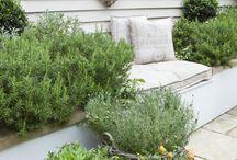 Beautiful gardens / Outside, flowers, plants, patios