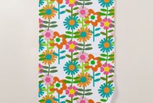"""Beach Towels - Colorful, modern, trendy unique designs / Step out to the pool or beach with a gorgeous custom designed beach towel. The towels measure 70"""" x 35"""", with the front a polyester blend which allows for vibrant printing and the back is 100% cotton, designed to last and absorb water.  My board includes hand selected beach towels which have been created by talented designers from zazzle. Perfect gift idea. I'm adding to the board regularly. #beachtowel #towel #personalized #unique #surfergirl #giftforher #affiliate #giftforhim"""