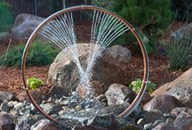 Vatten i trädgården