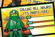 Boys 6th Ninjago birthday