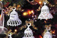 Z Háčkované zvonky - crochet bells