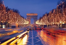 Paris / My favorite city.  I would love to live there.