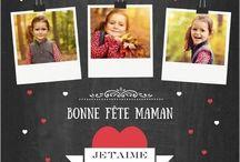 Fête des Mères / Une Maman, on n'en a qu'une, alors pour lui montrer tout votre amour, découvrez nos jolies cartes #fetedesmeres et toutes nos inspirations !