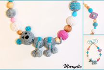 Háčkovane náhrdelníky