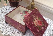 Caixas decoradas / Vintage, decoupage, etc...