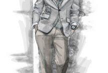 módní kresba