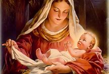 Mother w/infant Jesus / CHRISTmas