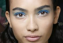 Blue is the new Black / Blue eye makeup doesn't have to be reminiscent of the 80's.  Check out these beauty tips so you too can get in on the cobalt beauty trend