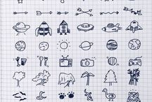 Doodle and Letters Ideas