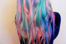Multy colored hair