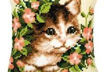 polštář - kočka 2